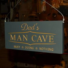 Surely the present for the man who has everything (including a 'man cave'!)