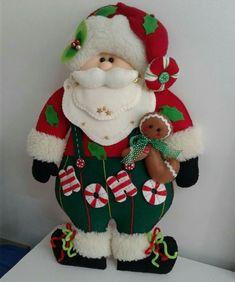 Dog Ornaments, Christmas Ornaments, Felt Dogs, Christmas Stockings, Diy And Crafts, Merry Christmas, Santa, Ideas Originales, Dolls