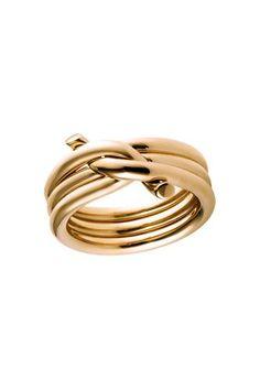 lindo anel em ouro