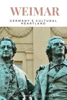 Join us for a trip through Germany's cultural Heartland, Weimar