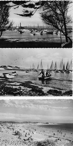 Vintage - La Cotinière à l'Île d'Oléron. #Cotiniere