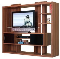 Lemari Rak Meja TV Jati Minimalis Murah Tv Cabinet Design, Tv Unit Design, Modern Tv Wall Units, Tv Wall Decor, Business Furniture, Wooden Projects, Tv Cabinets, Colorful Furniture, Modern House Design