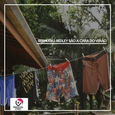 Bonito, confortável, leves e o melhor: fácil de lavar. Lavou, secou e pronta para usar de novo <3 #Verão #Redley #Redlye85 #Verão2017 #UsoRedley #ModaMasculina #TodaHoraÉ