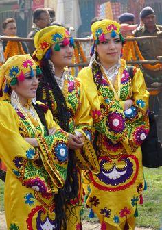 She is dancers girl....Tajikistan