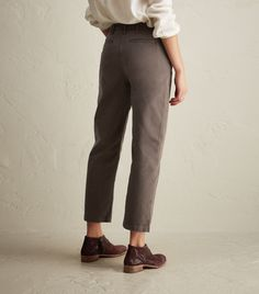 TOAST | Stretch Cotton Twill Trousers