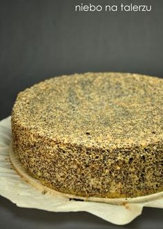 Znaleźliśmy nowe Piny na tablicę kuc. Polish Desserts, Cookie Desserts, Polish Recipes, Just Desserts, Dessert Recipes, Sandwich Cake, Gourmet Cooking, Different Cakes, Sweets Cake