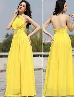 (FITS002299)A-line Floor-length Elastic Woven Satin,Tulle Bridesmaid Dresses / Evening Dresses / Prom Dresses
