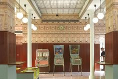 Luce bar by Wes Anderson