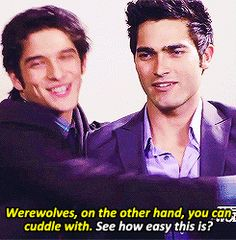 teen wolf gif haha