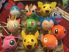 Pokemon Craft, Pokemon Party, Christmas Crafts, Xmas, Christmas Ornaments, Christmas Centerpieces, Christmas Decorations, 25th Birthday, Beaded Animals