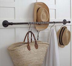 rustic wooden garment rack - Google Search