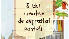 11 idei ingenioase de organizare cu bani putini - SoftBlog Design Case, Interior, Home Decor, Dressing, Decoration Home, Indoor, Room Decor, Interiors, Home Interior Design