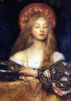 "Frank Cadogan Cowper, ""the last Pre-Raphaelite"". Lines and Colors post: http://linesandcolors.com/2014/08/03/frank-cadogan-cowper/"