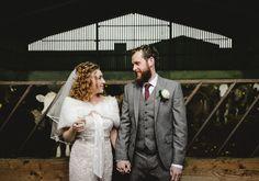bride and groom norfolk wedding.  www.luisholden.com