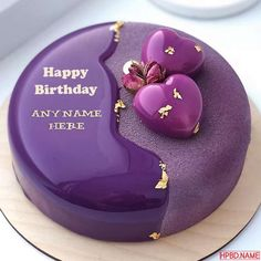 Happy Birthday Cake Writing, Birthday Cake Write Name, Birthday Cake Greetings, Happy Birthday Wishes Cake, Creative Birthday Cakes, Birthday Cake For Husband, Elegant Birthday Cakes, Birthday Cake With Photo, Happy Birthday Cake Images