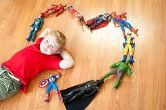 Posh Poses | Children Photography | Hobbies & Interests | Valentine's Day Inspiration | Superhero Inspiration | Superhero Love | Little Boys & T-shirts #lovelovelove