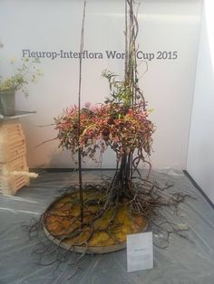 Artist Mehmet Yilmaz, Turkey :: Fleurop-Interflora World Cup – Berlin 2015
