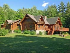 A fantastic log home you MUST check out | Plainfield, NH  http://www.fourseasonssir.com/listing/4249445/261-ladieu-road-plainfield-nh-03770/