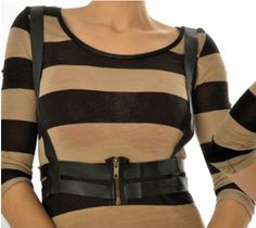 Leather Harness (Steampunk) DIY Tutorial (in French but easy to understand regardless)