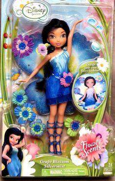 Disney Fairies Tink Rosetta Silvermist Dolls Flower Scents Lot of 3 Dolls New | eBay
