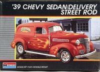 Monogram 1939 Chevy Sedan Delivery Street Rod