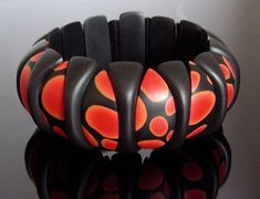 """Claire Wallis, """"Ladybirds"""" (polymer clay)"""