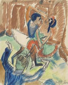 Ernst Ludwig Kirchner (1880-1938) | Negertanz | Christie's
