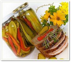 Ogórki  kanapkowe  w  zalewie  słodko - kwaśnej Pickles, Cucumber, Salads, Food And Drink, Restaurant, Vegetables, Drinks, Winter, Thermomix