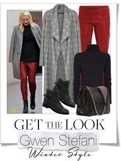 """""""Show Us Your Winter Style - Gwen Stefani"""" by renatademarchi ❤ liked on Polyvore"""