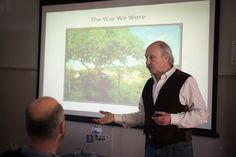 Check out photos from our impromptu happy hour with the founder of New Urbanism, James Howard Kunstler #sustainability