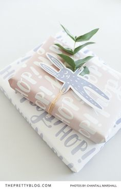Simple Gift Wrapping Printables that you can download for free   Photography by…