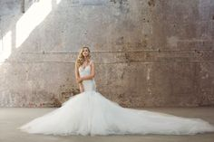 What better way to take on the big city vibe of Brooklyn than blending industrial glam with Galia Lahav highlighting urban charm and the romance of couture. 2016 Wedding Trends, Wedding Dress Trends, Bridal Shoot, Bridal Gowns, Wedding Gowns, Galia Lahav, Strictly Weddings, Fantasy Wedding, Wedding Bride