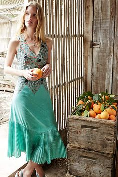 Canyon Creek Maxikleid - anthropologie.eu