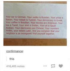 post, racism, and tumblr image