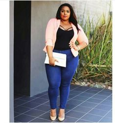 Plus size casual look