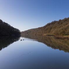 River Fowey from Shirehall Moor, Cornwall.