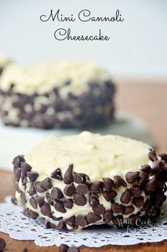 Recipe: Cheesecake Recipe / Mini Cannoli Cheesecakes - tableFEAST