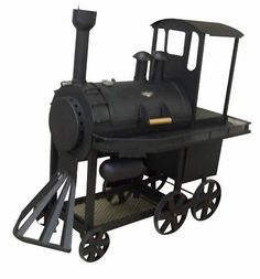 bull shaped barbecue grills | View Product Details: Classic big bbq smoker (Train-head shape)