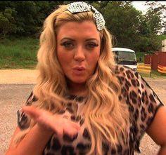 Gemma Collins loves Lemonade's crystal flower hairband