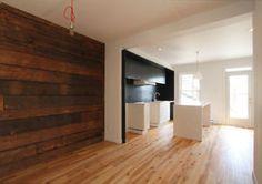 Plancher en contreplaqu vernis appareil architecture - Maison moderne toronto par studio junction ...