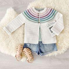 Ginger crochet jacket pattern & tutorial