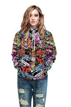 Full print hoodies with 2019 3D skull print sweater hoodie – menlivestyle Printed Hoodies, Skull Print, Hooded Sweater, Cargo Pants, Christmas Sweaters, 3d, Fabric, Zip Hoodie, Tejido