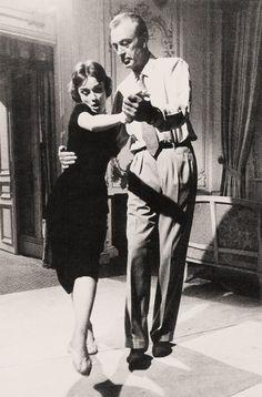 Audrey Hepburn + Gary Cooper dancing