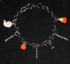 Halloween Party Charm Bracelet