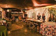Hello woodland fantasy at Canvas Event Space! #pinchme #VintageAmbiance #CanvasSODO