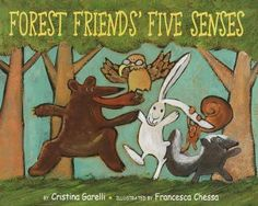 five senses - forest friends five senses