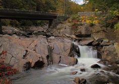 Title  Meigs Falls In Autumn   Artist  Dan Sproul   Medium  Photograph - Photograph-digital