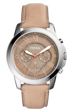 Fossil 'Grant' Round
