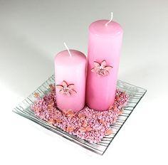 Rosa valentinsdekoration #Valentinsdag #Valentinsdekoration
