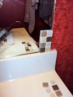 The Duty Chronicles: Tiled Bathroom Mirror